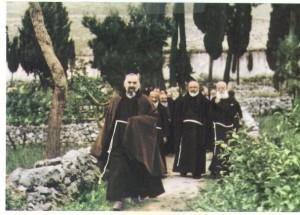 padre Pio passeggio