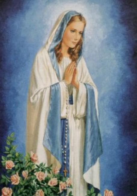Favoloso Amate la Madonna e fatela amare, recitate il Rosario e bene – 07  UA42